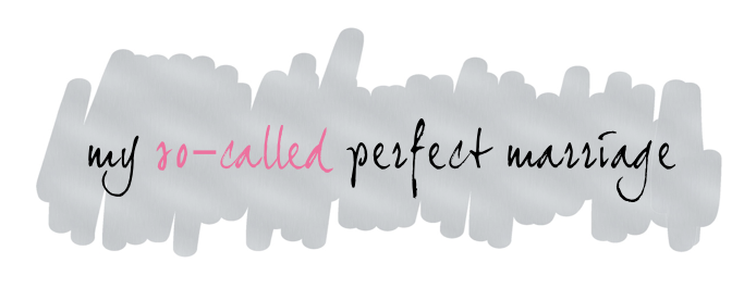 my so-called perfect marriage logo